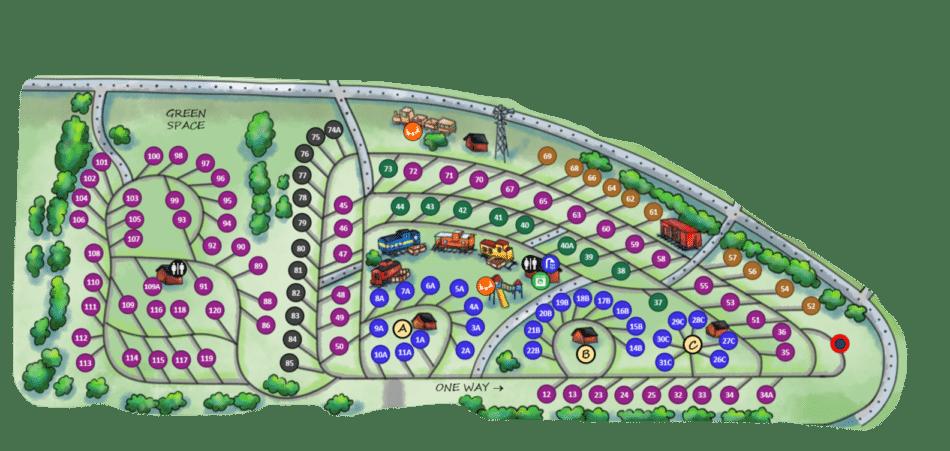 Meinerz Loop map